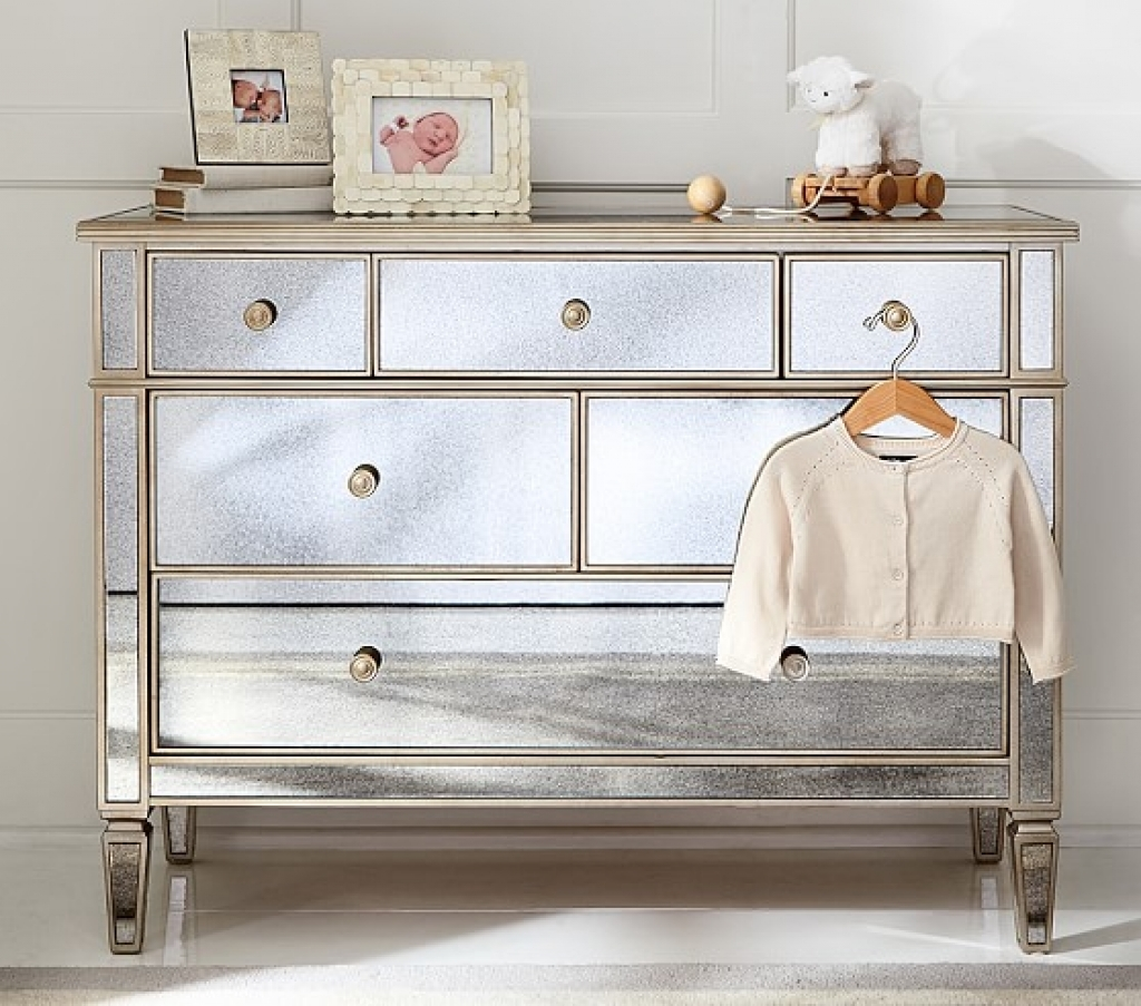 Picture of: Kids Mirrored Dresser Target