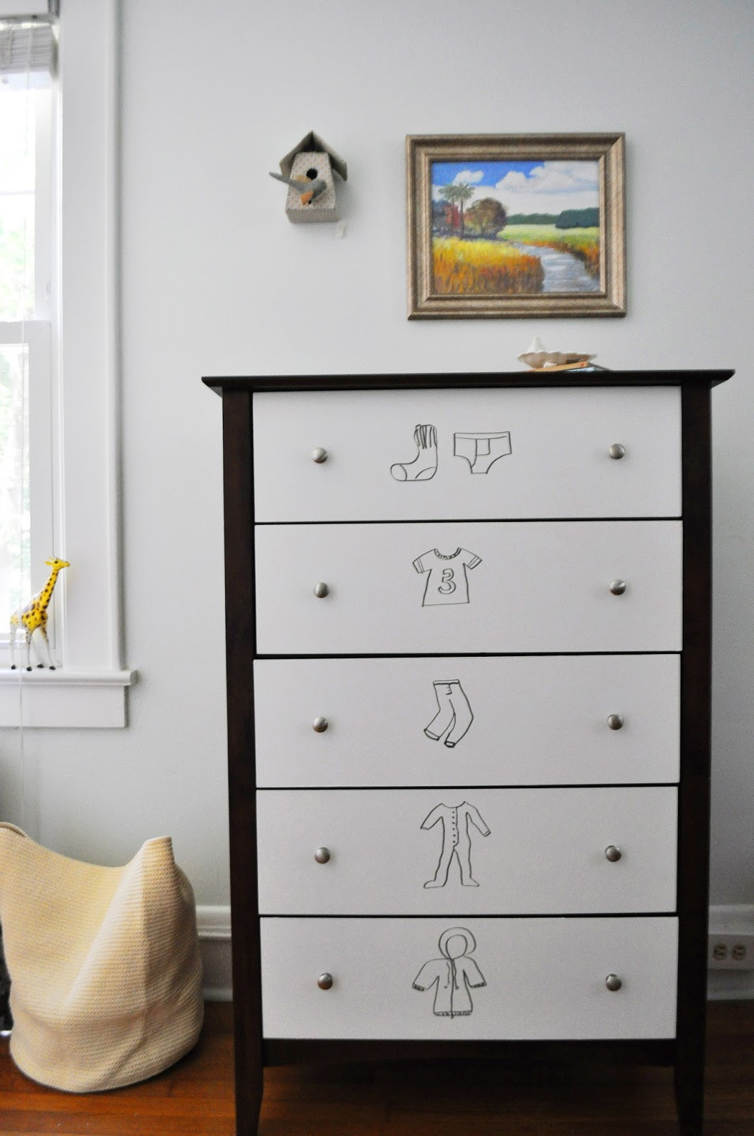 Image of: Kids Painted Dresser For Sale