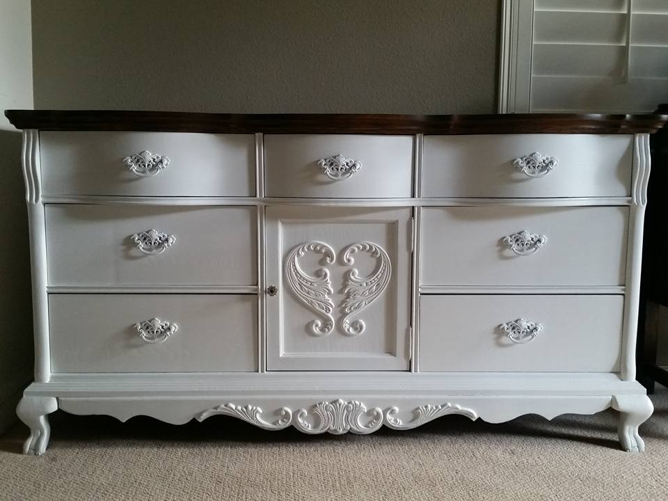 Image of: Lexington Dresser White