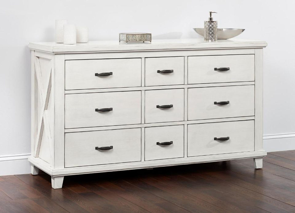 Image of: Lexington White Dresser