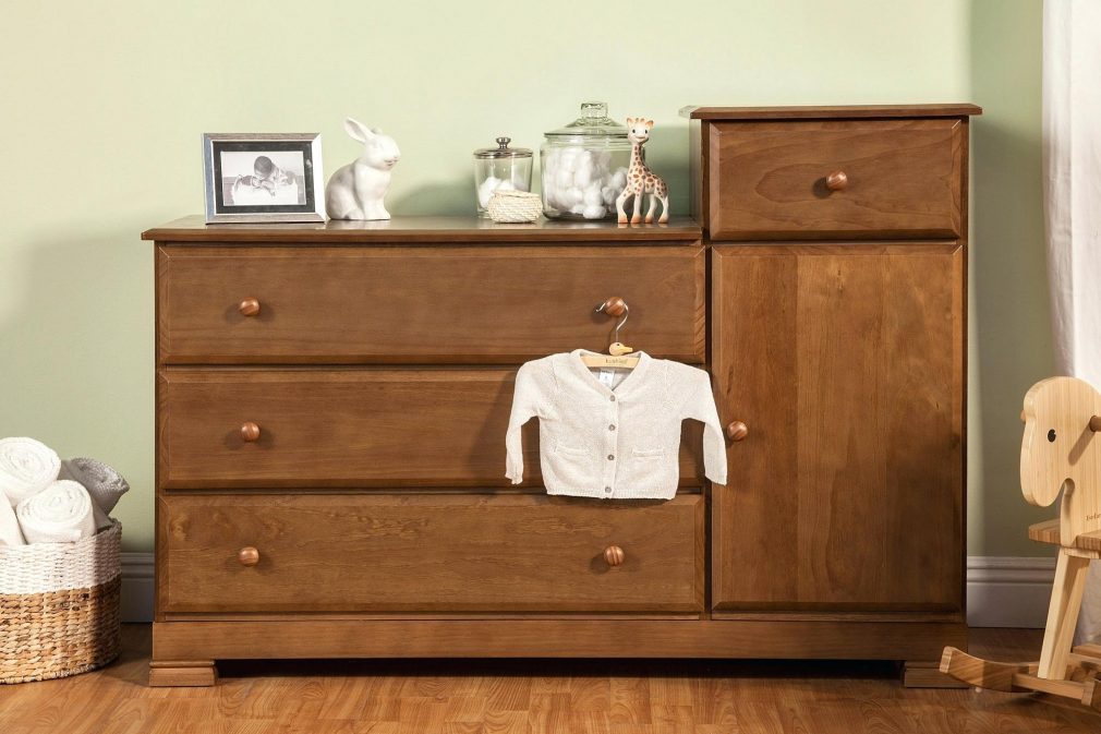 Picture of: Light Oak Dresser Changing Table