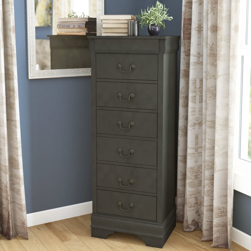 Picture of: Lingerie Gray Dresser