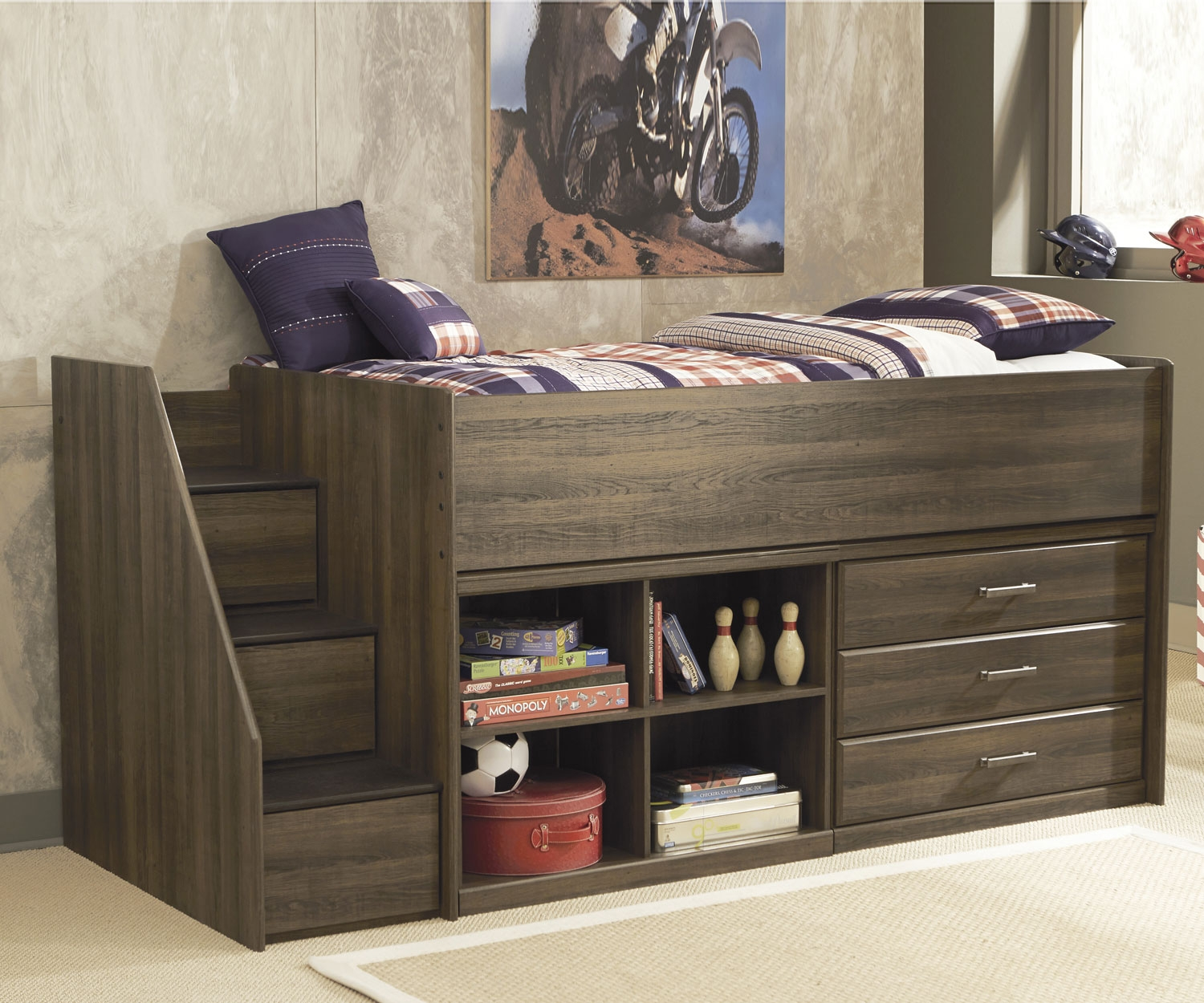 Picture of: Loft Bed Desk Combo