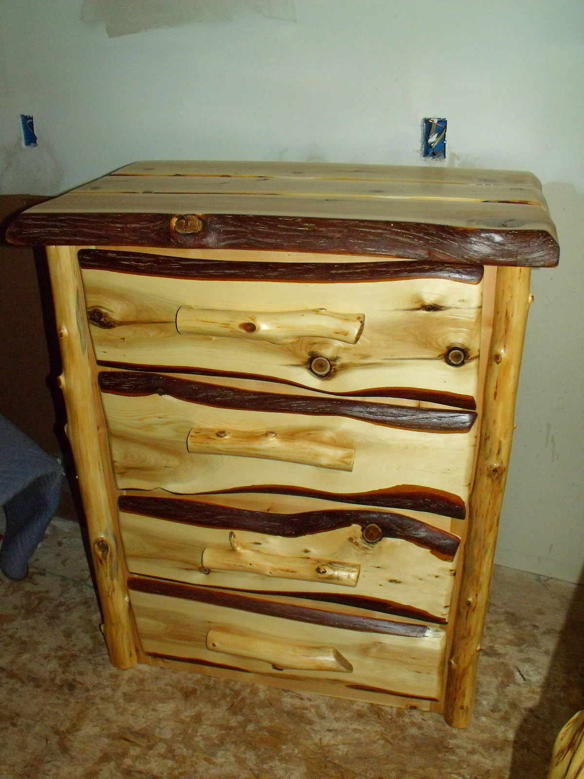 Picture of: Log Rustic Storage Furniture