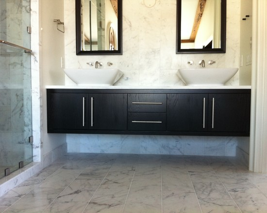Picture of: Long Floating Dresser