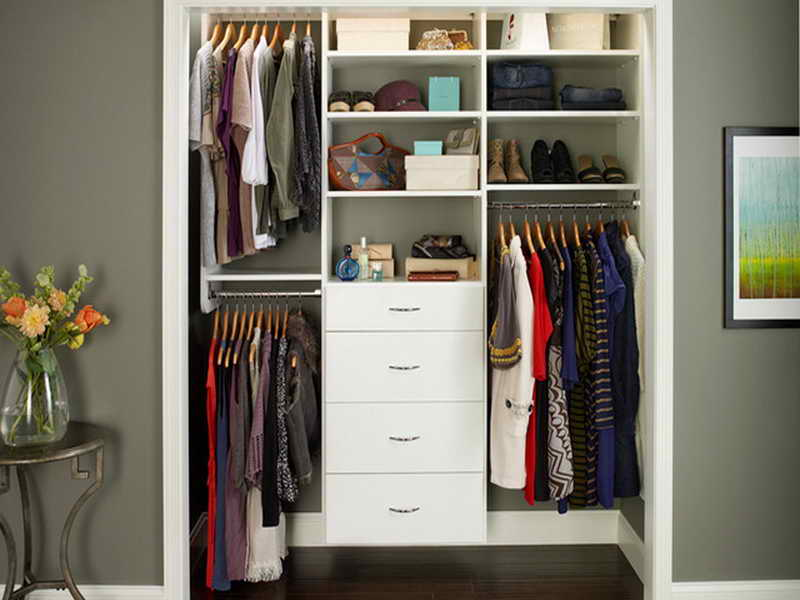 Picture of: Lowes Closet Organizer Wall