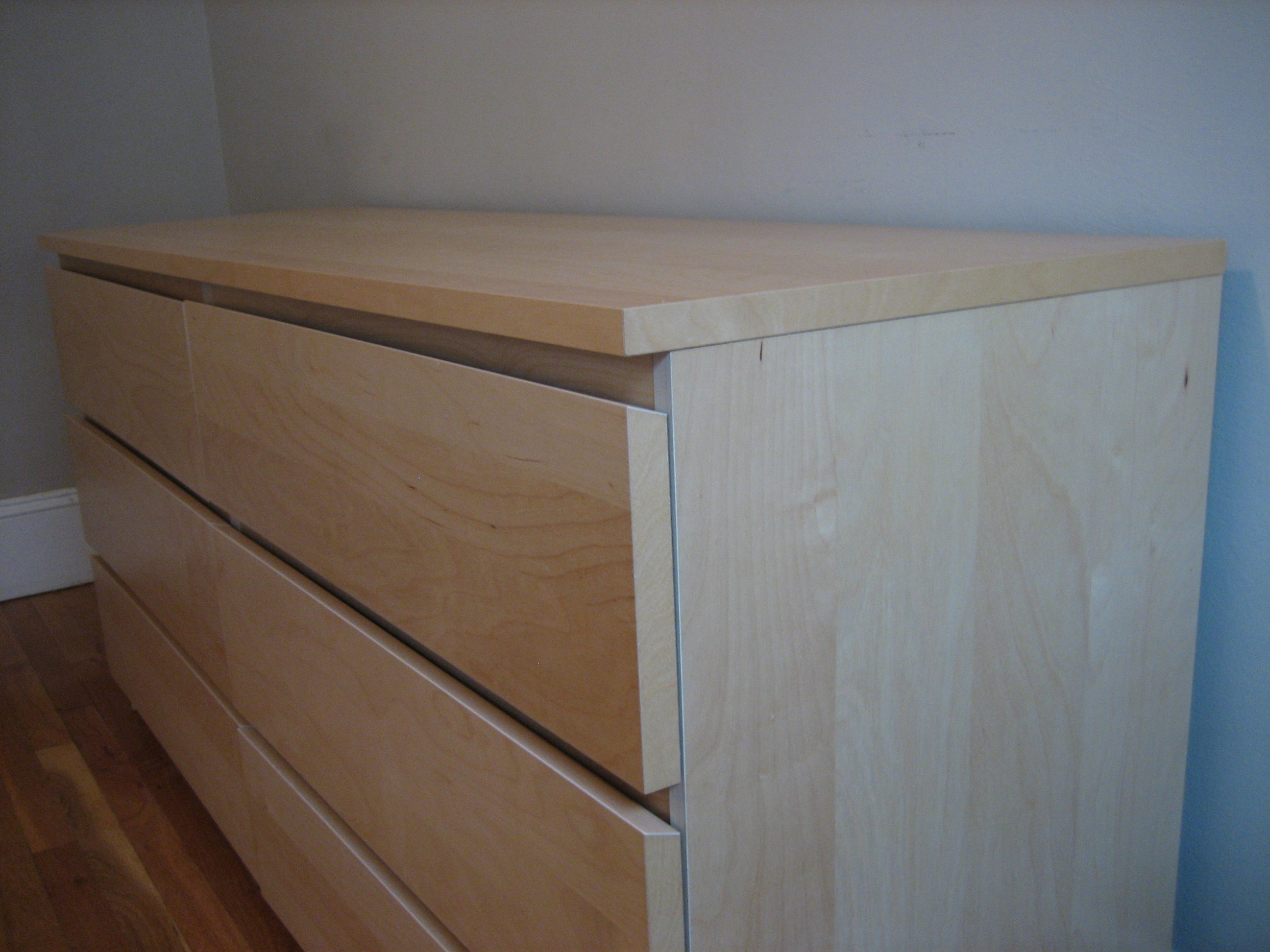 Picture of: Minimalist Malm IKEA Bed