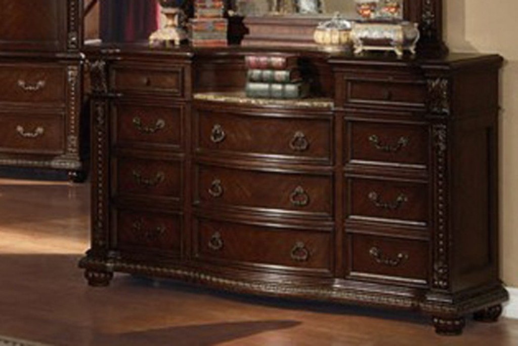 Image of: Marble Top Dresser Antique