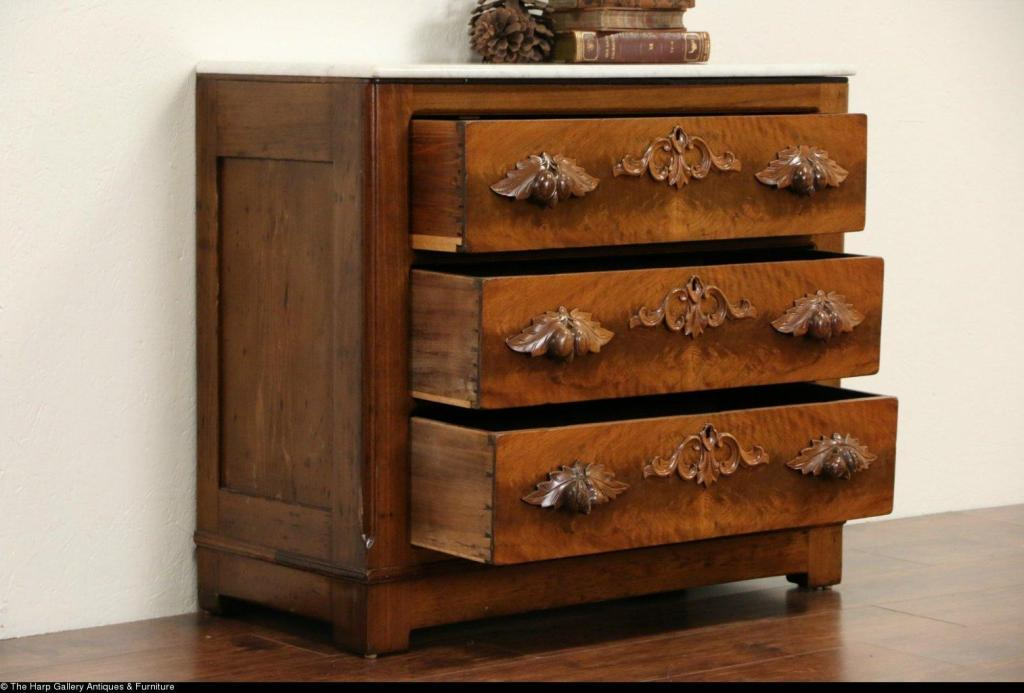 Image of: Marble Top Dressers
