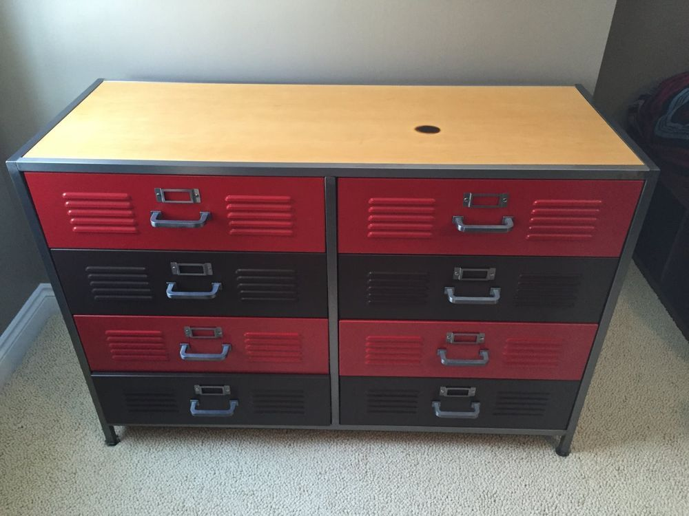 Picture of: Metal Locker Dresser Colors