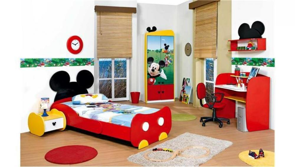 Picture of: Mickey Mouse Bed Set