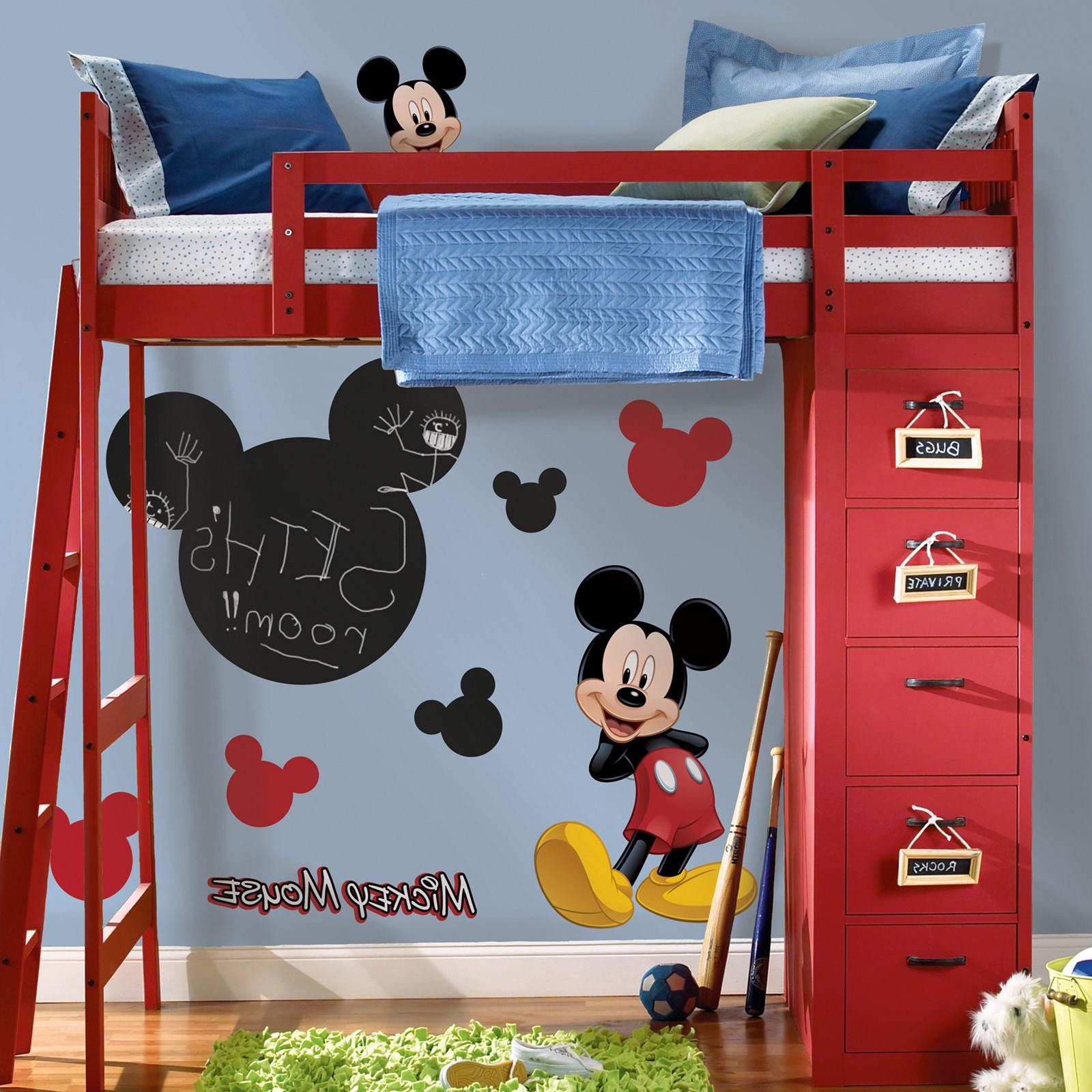 Picture of: Mickey Mouse Bedroom Storage