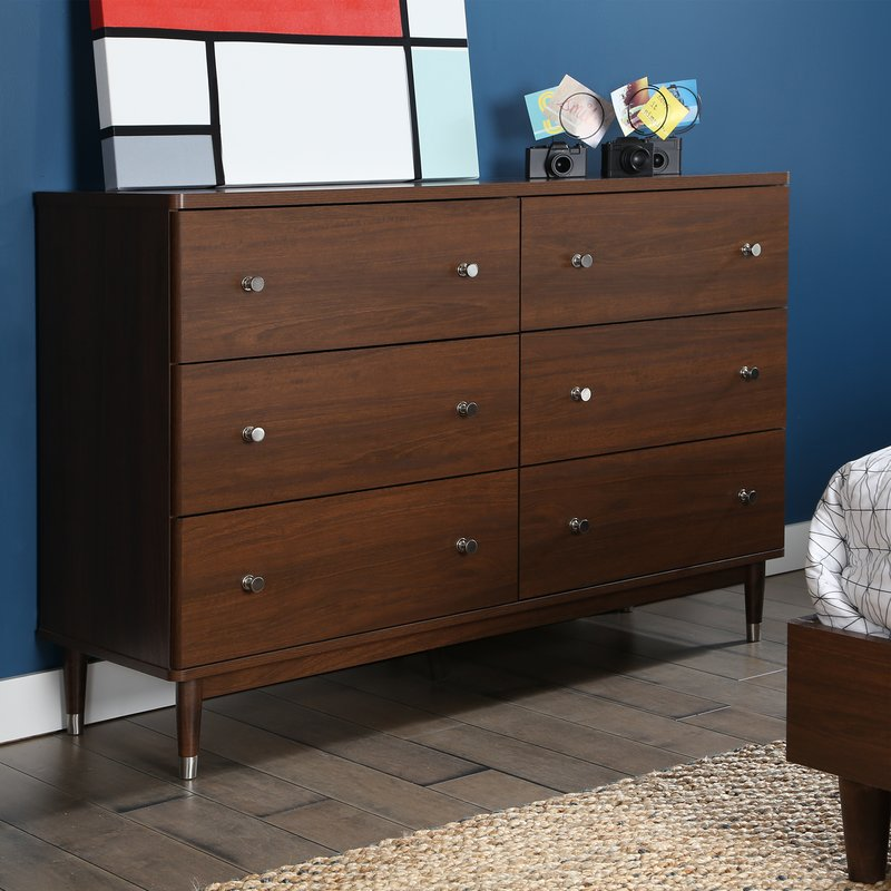 Image of: Mid Century Dresser Bedroom