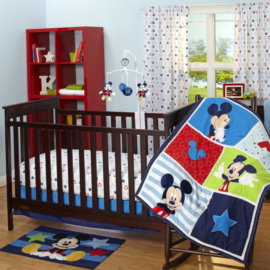 Picture of: Minnie Mouse Crib Bedroom