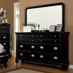 Picture of: Mirror Dark Dresser Set