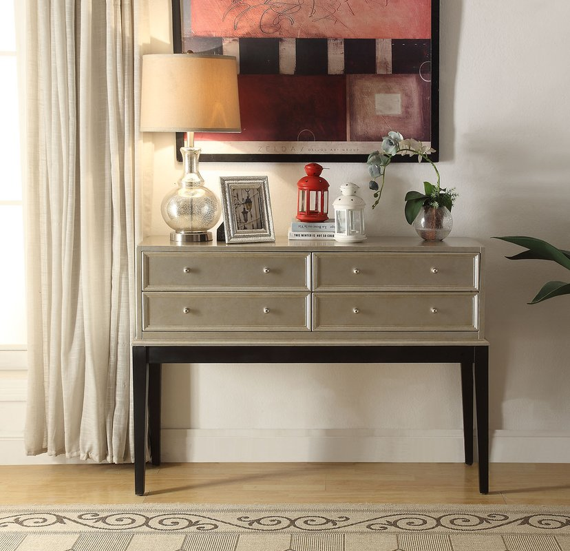 Picture of: Mirrored Chest Decor
