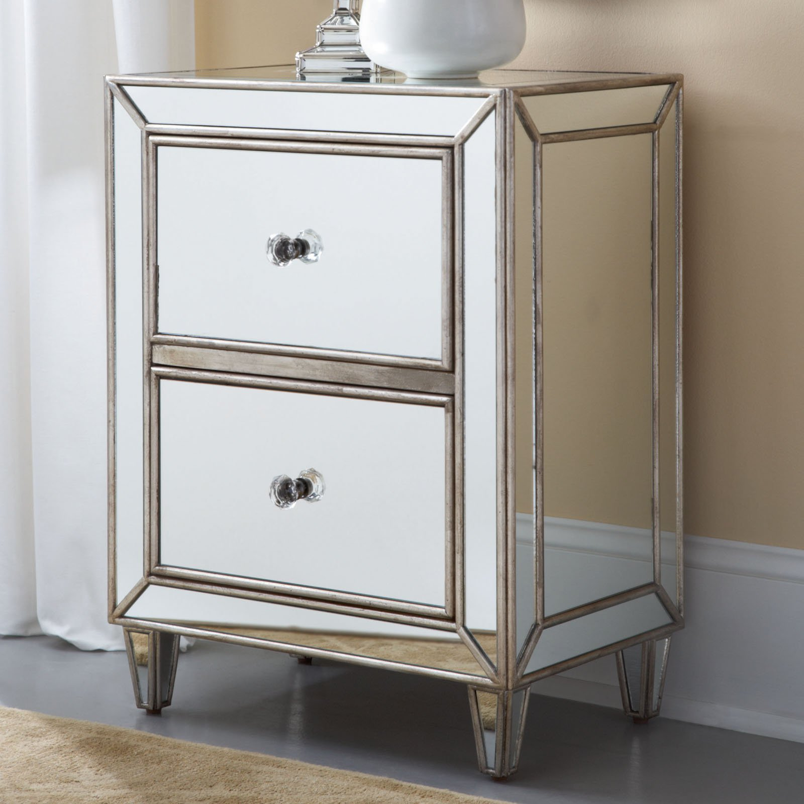 Picture of: Mirrored Dresser Cheap