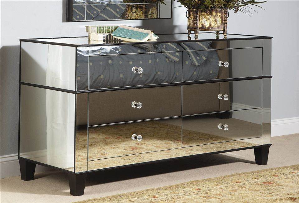 Picture of: Mirrored Dresser Designs For Bedroom