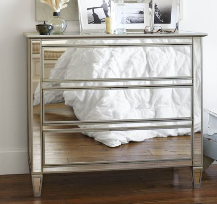 Picture of: Mirrored Image Dresser Ikea