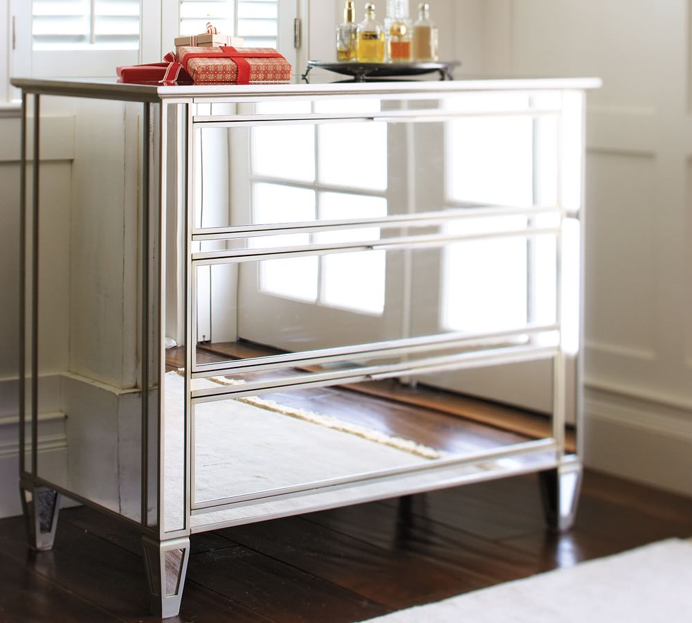 Picture of: Mirrored Media Console
