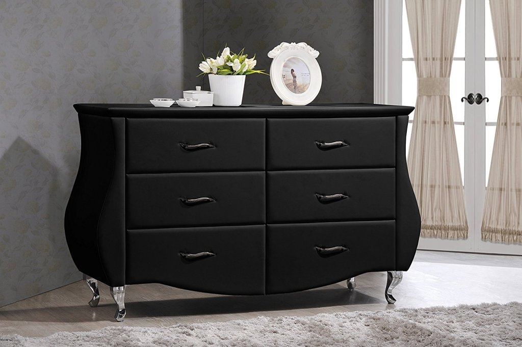 Picture of: Modern Dresser with Mirror