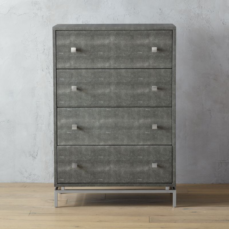 Picture of: Modern Gray Metal Dressers