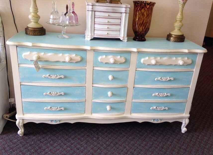 Picture of: Modern Two Tone Dresser