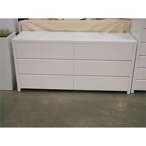 Picture of: Modern White Double Nice Dresser