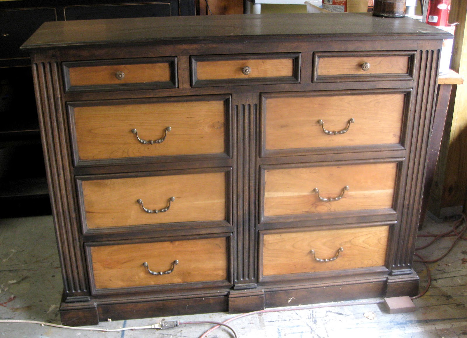 Picture of: Multi Colored Drawers Wood