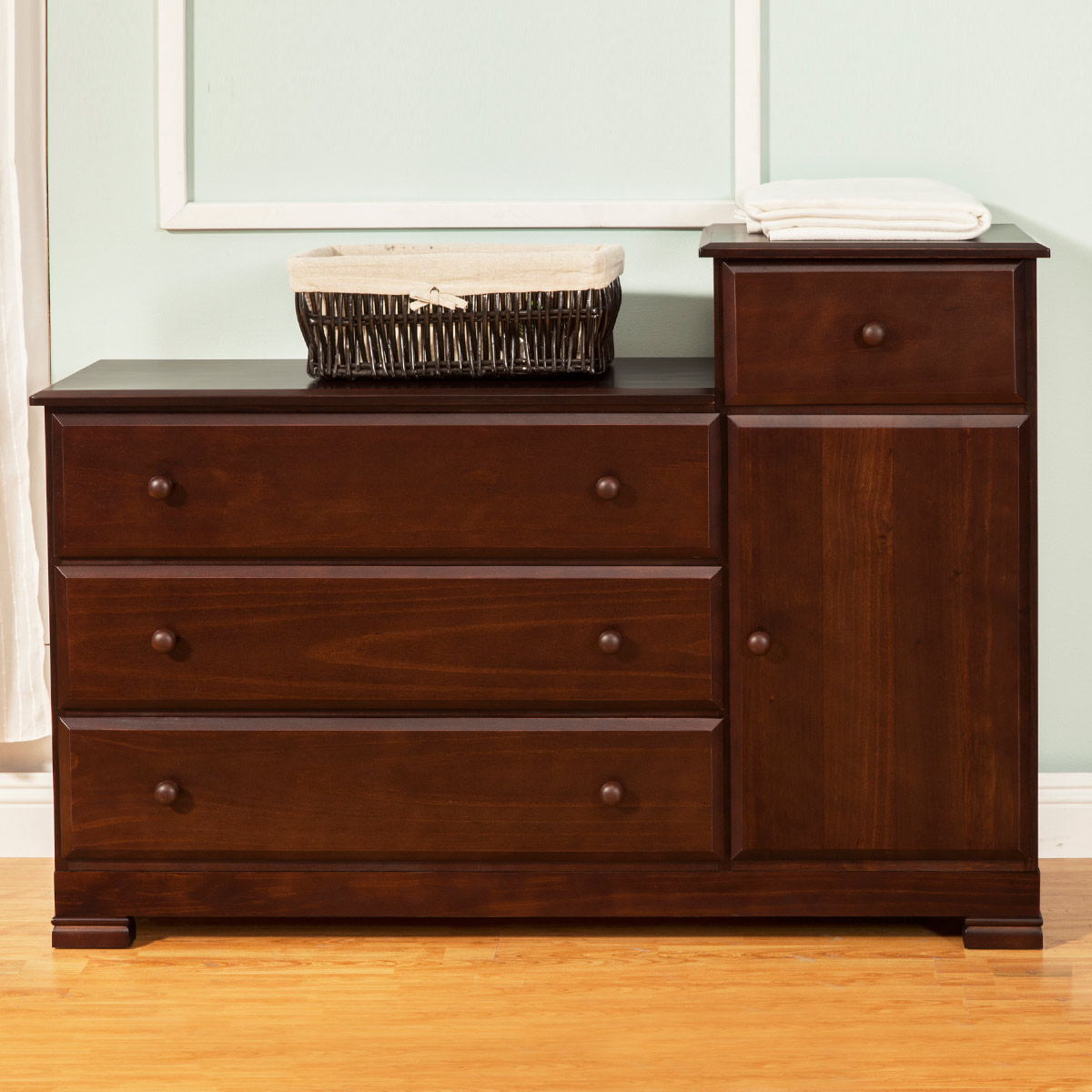 Picture of: Natural Dark Oak Dresser