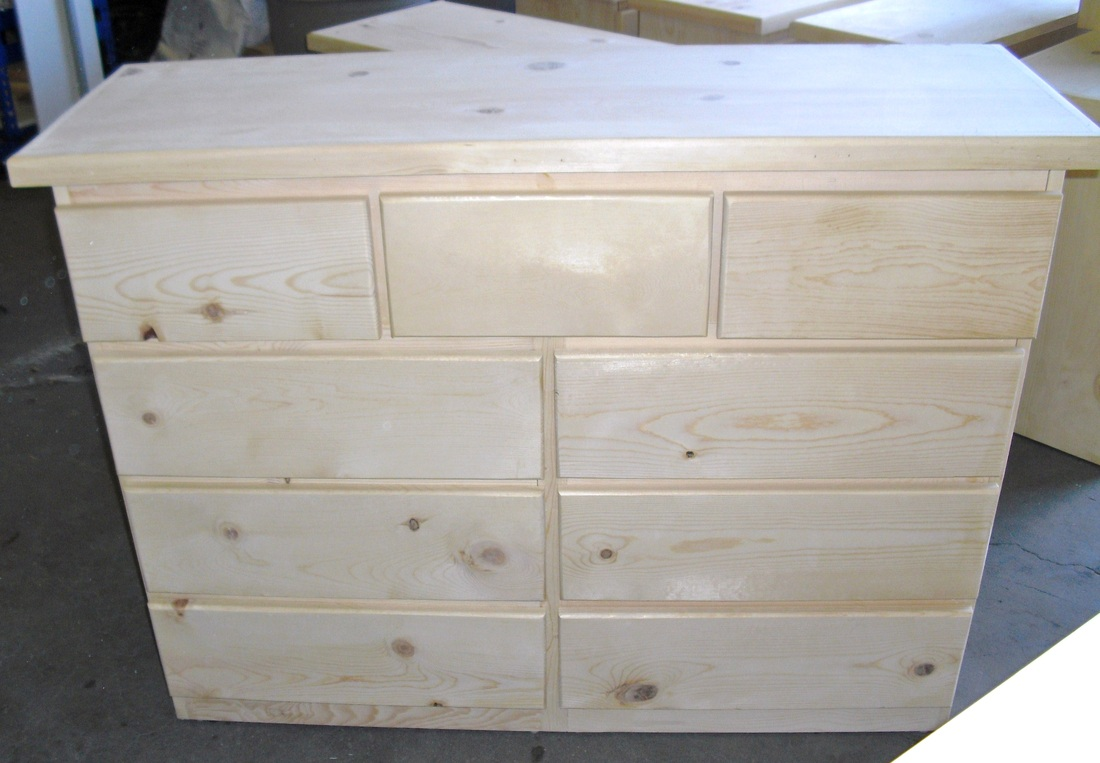 Picture of: Natural Pine Dresser For Bedroom