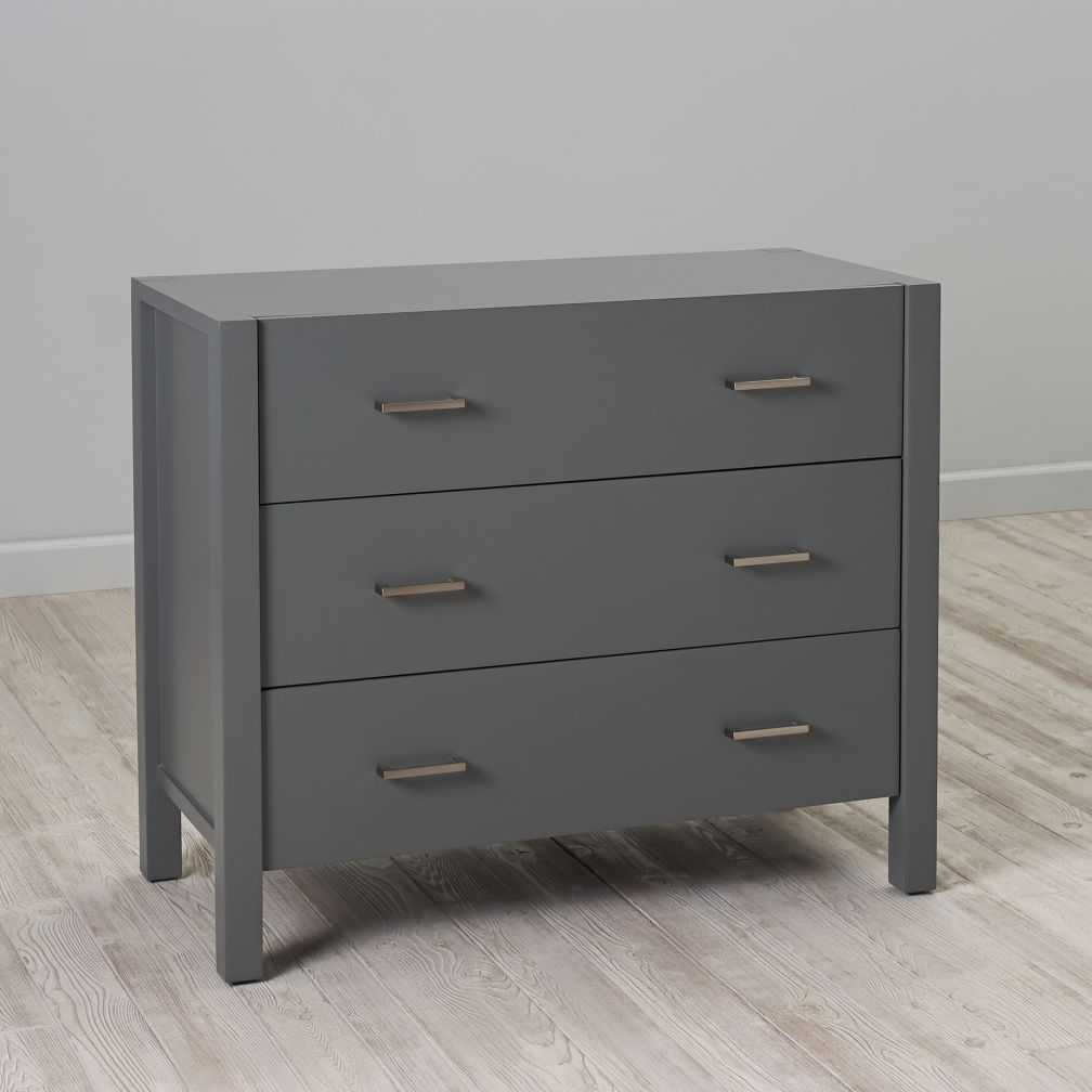 New Gray Dresser Nursery