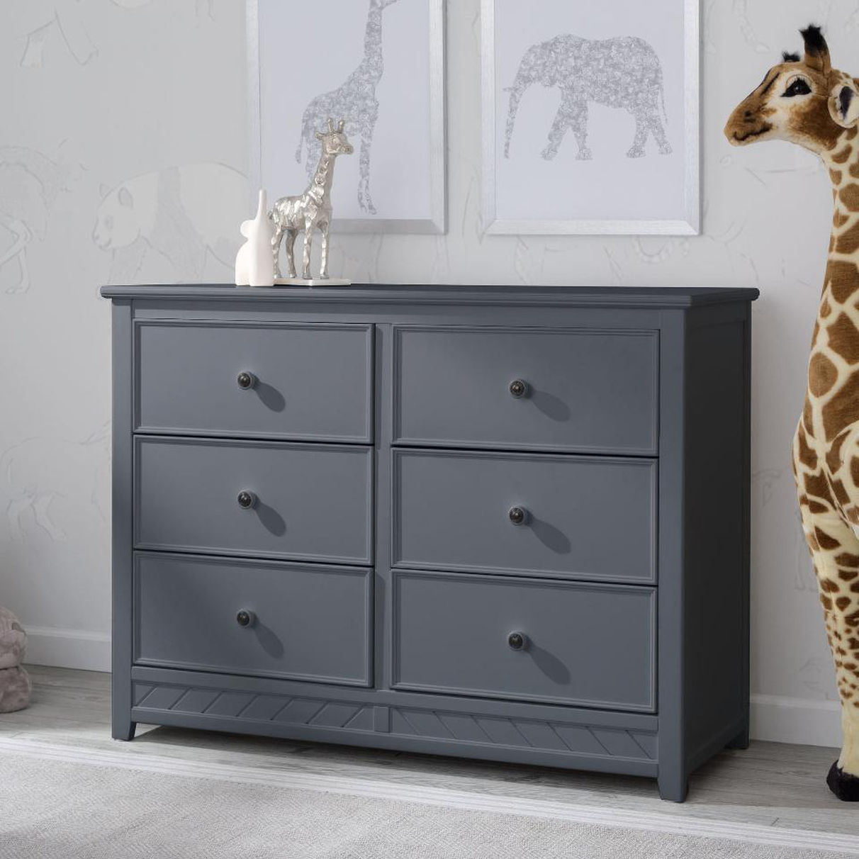 Picture of: New Painted Grey Dresser