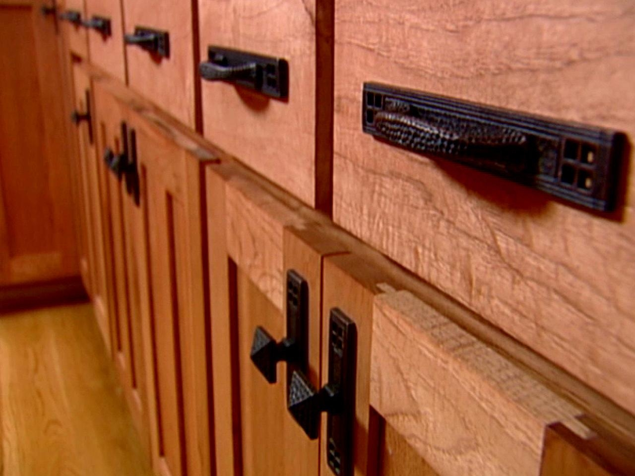Picture of: Nice Wrought Iron Cabinet Hardware