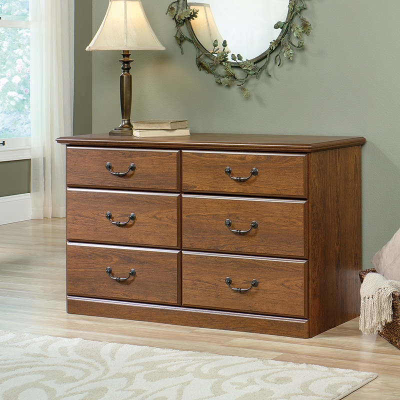 Picture of: Oak Finish Dresser