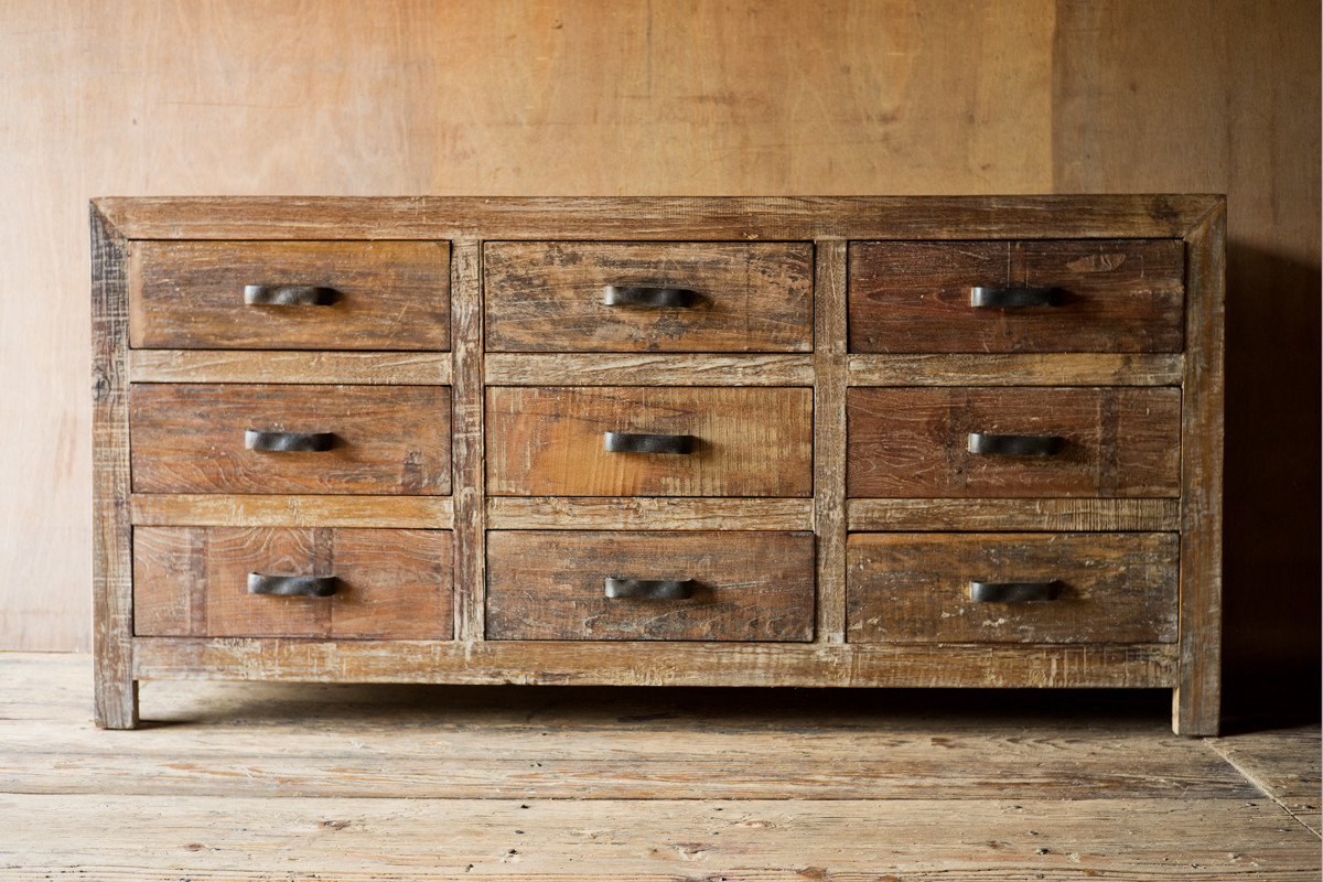 Image of: Old Rustic Dressers Knob