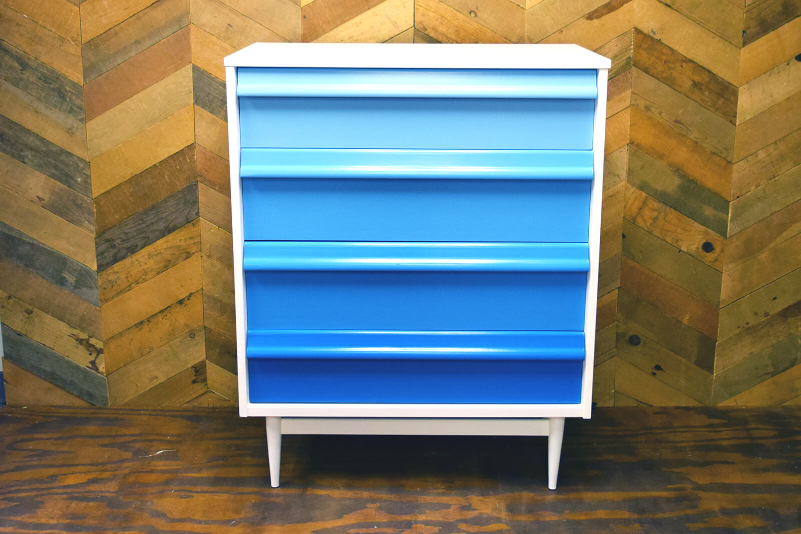 Picture of: Ombre Dresser Blue