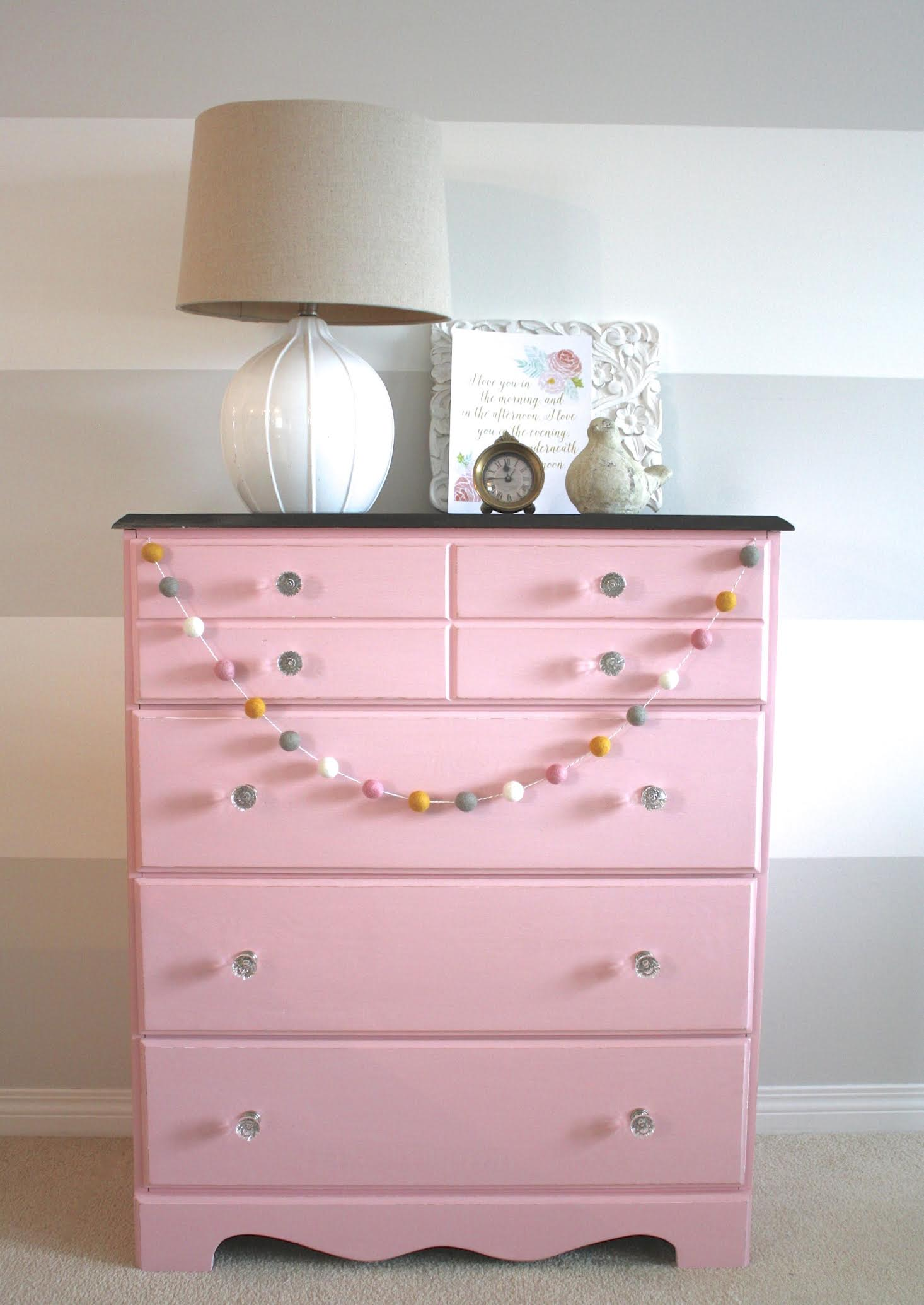 Picture of: Ombre Dresser Pink