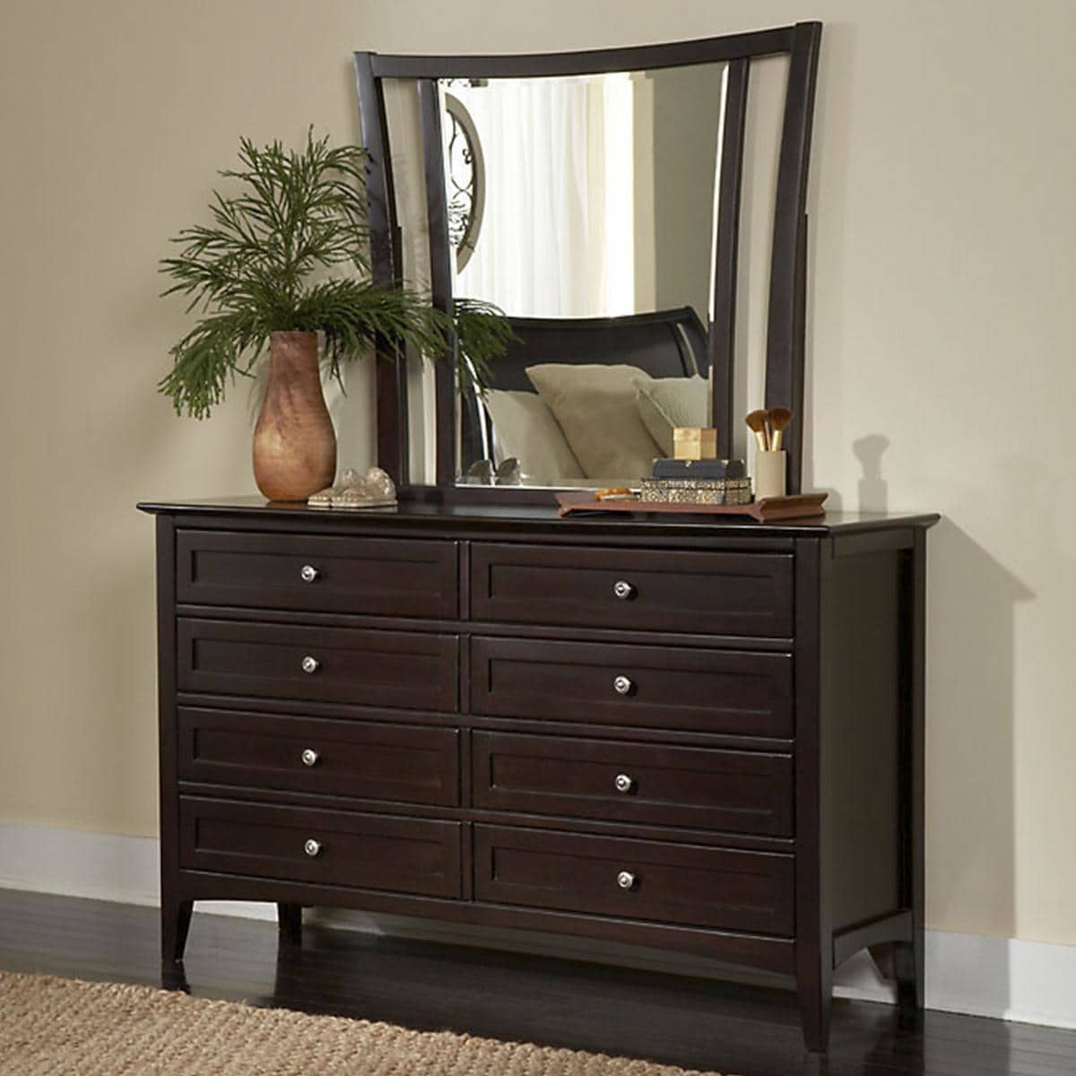 Oversized Chest Of Drawers Mirror