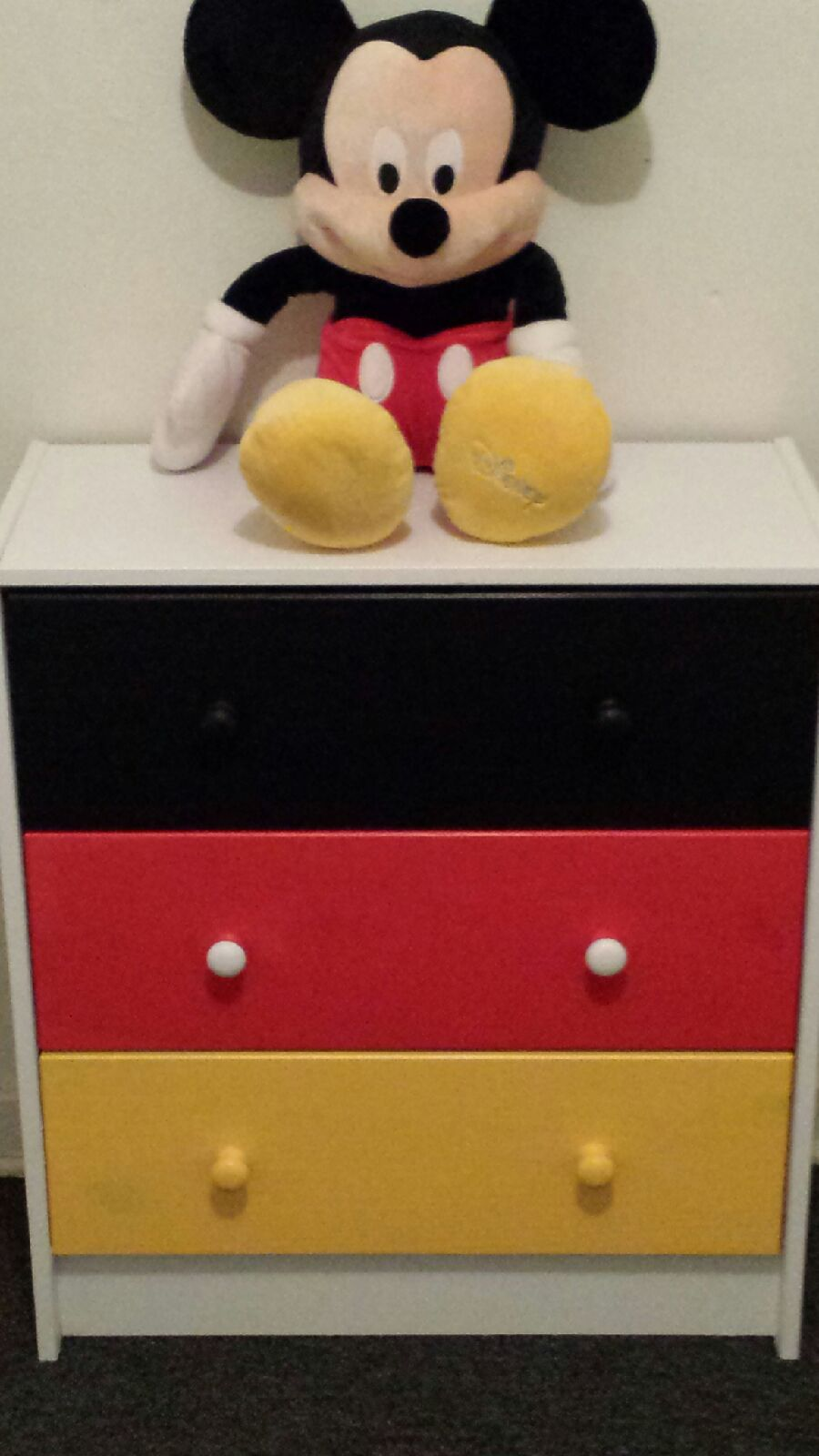 Picture of: Painted Colorful Dresser