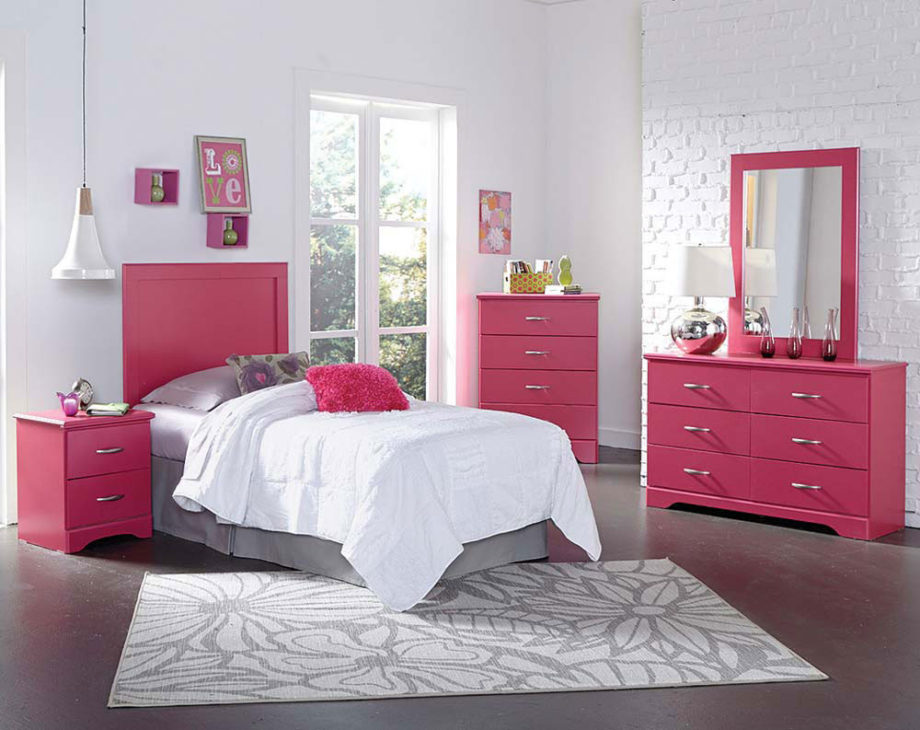 Picture of: Pink Affordable Dressers for Girl