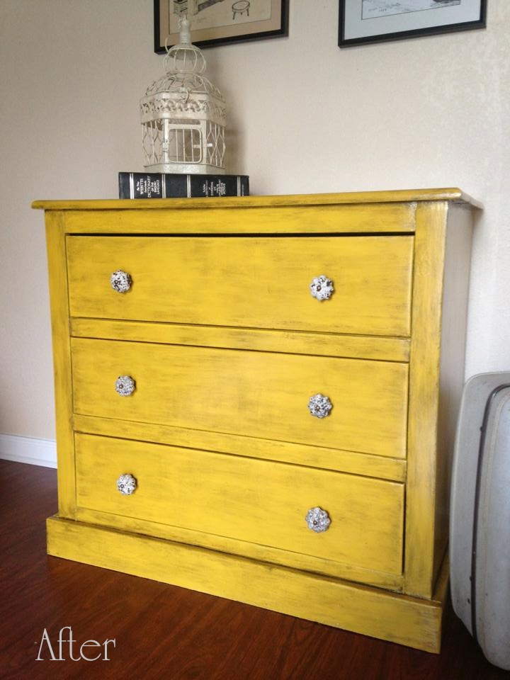 Picture of: Refurbished Small Dresser