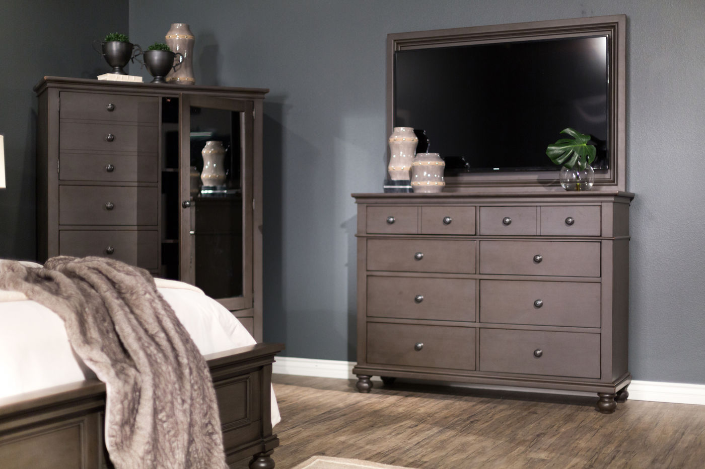 Picture of: Repurposing a Dresser into an Entertainment Center
