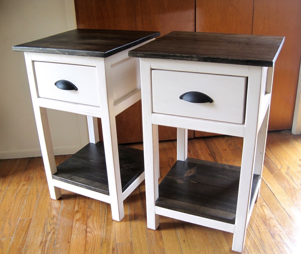 Picture of: Rolling Bedside Table Dresser