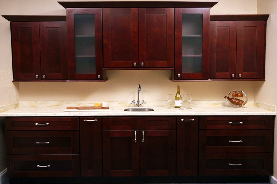Image of: Rustic Cabinet Hardware Kitchen