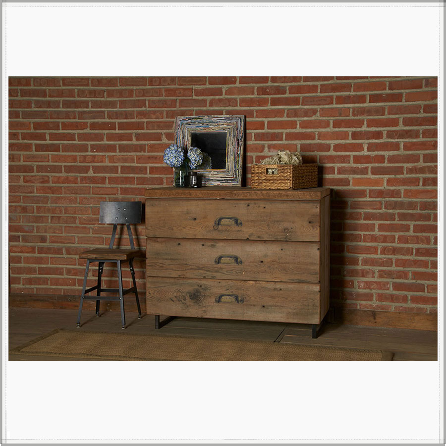 Image of: Rustic Drawers For Lockers