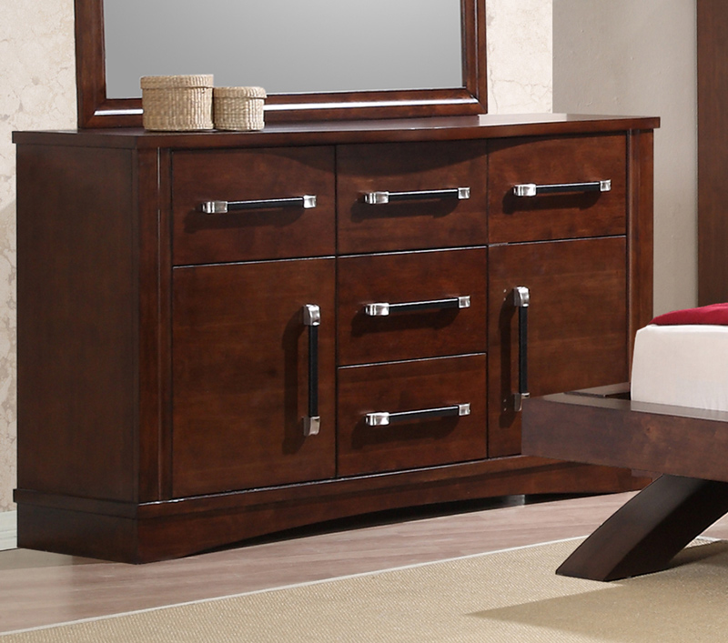 Picture of: Sauder Oak Dresser