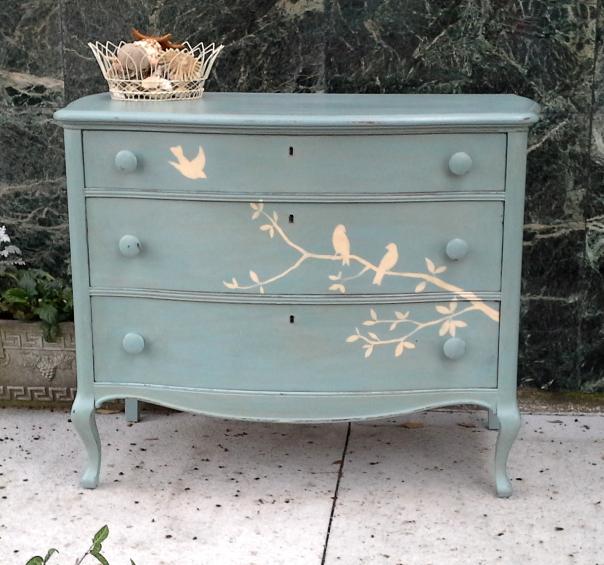 Picture of: Shabby Chic 3 Drawer Dresser