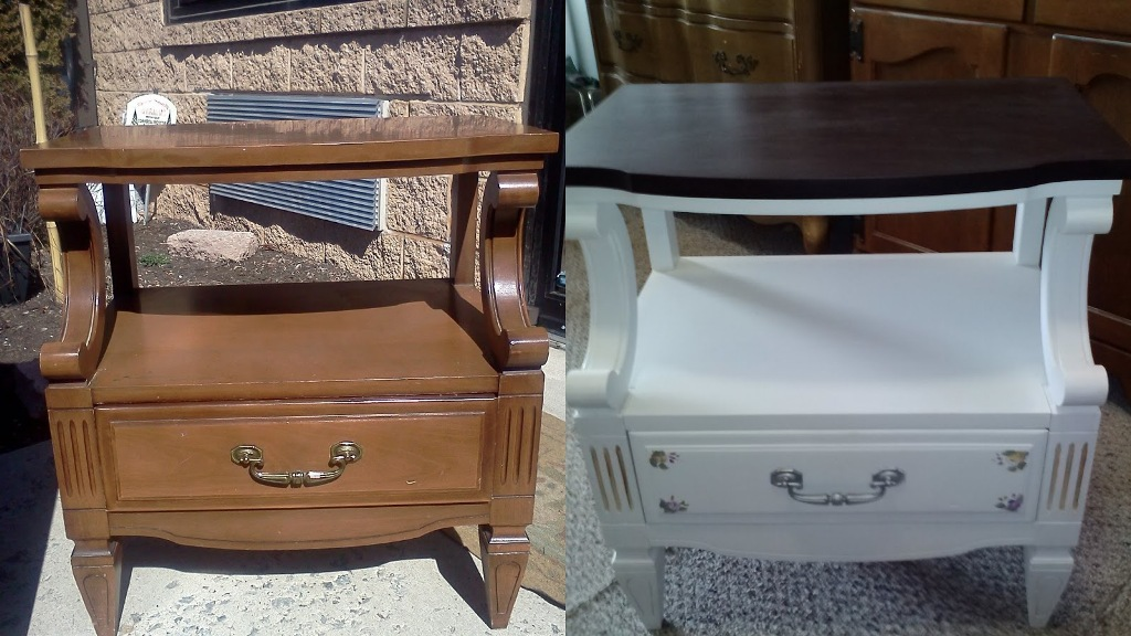 Image of: Shabby Chic Furniture Before And After