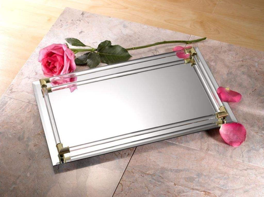 Picture of: Silver Vanity Tray